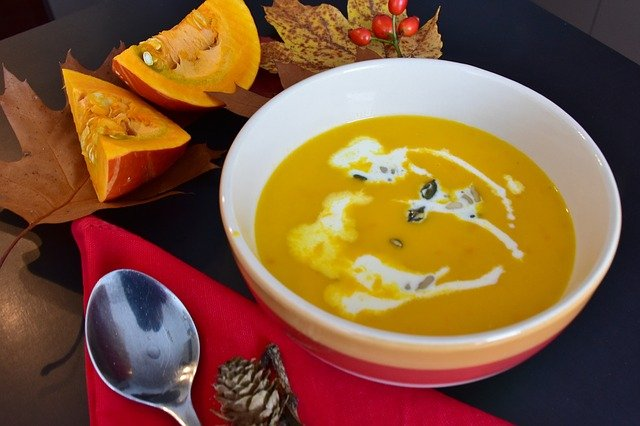 roast pumpkin recipe soup