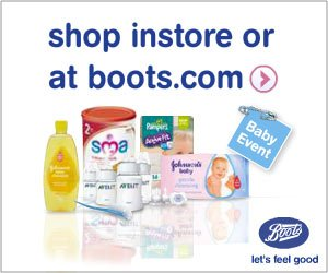 boots baby event