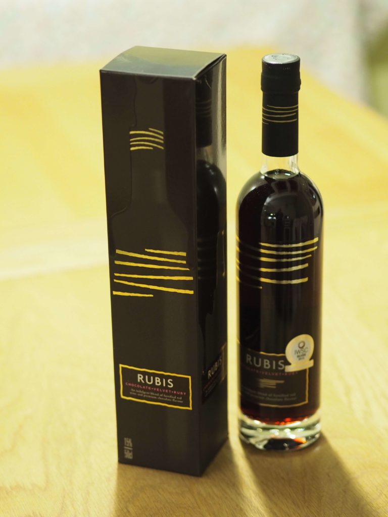 rubis chocolate fortified wine